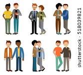 gays couple. lgbt. tolerance....   Shutterstock .eps vector #518039821