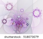 Abstract Fractal Image On The...