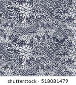 lace pattern | Shutterstock .eps vector #518081479