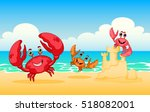 Vector Illustration Sea Animal...