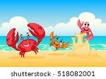 Vector Illustration Sea Animal...