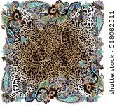 Animal Paisley Color Shawl...
