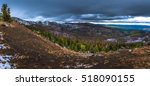 strawberry mountain wilderness ... | Shutterstock . vector #518090155