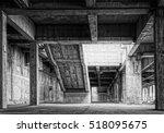 design element. abandoned... | Shutterstock . vector #518095675