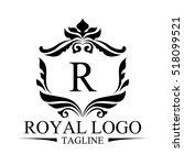 luxury logo   Shutterstock .eps vector #518099521