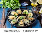Seafood. Shellfish Mussels....