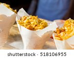 typical street food potato... | Shutterstock . vector #518106955