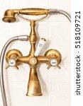 antique shower and bath faucets