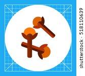 cloves flat icon   Shutterstock .eps vector #518110639