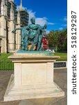 Statue Of Roman Emperor...