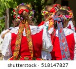 Detail Of Polish Folk Costume...