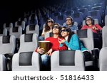 smiling young people look...   Shutterstock . vector #51816433