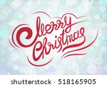 vector template with lettering... | Shutterstock .eps vector #518165905