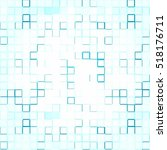 abstract light blue and white... | Shutterstock .eps vector #518176711