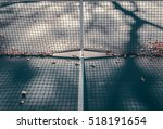abstract tennis court center... | Shutterstock . vector #518191654