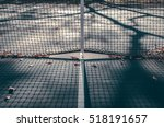 abstract tennis court center... | Shutterstock . vector #518191657