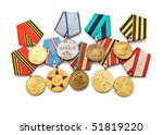 Collection Of Medals For...