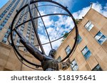 The Statue Of Atlas In Front O...