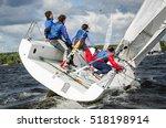 moscow  august 30   team... | Shutterstock . vector #518198914