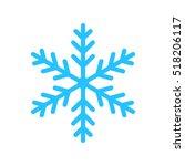 snowflake | Shutterstock .eps vector #518206117