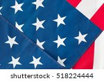 us flag | Shutterstock . vector #518224444