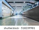 Empty Corridor Of Modern...