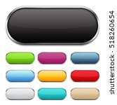 blank colored buttons with...