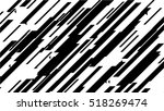 black diagonal lines on white... | Shutterstock .eps vector #518269474