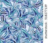 seamless background. lilies....   Shutterstock . vector #518277139