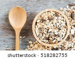 old country style muesli  | Shutterstock . vector #518282755