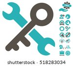 key tools pictograph with bonus ...   Shutterstock .eps vector #518283034