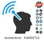 radio neural interface...   Shutterstock .eps vector #518302711