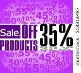 super sale  paper banner  sale... | Shutterstock .eps vector #518316487