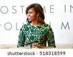 new york may 5  first lady of... | Shutterstock . vector #518318599