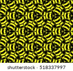 abstract geometric wallpaper.... | Shutterstock .eps vector #518337997