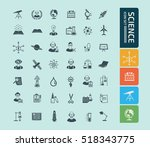 science innovation icon vector | Shutterstock .eps vector #518343775