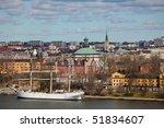 aerial view on stockholm  sweden   Shutterstock . vector #51834607