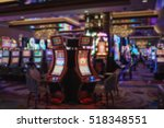 image of abstract blur slot... | Shutterstock . vector #518348551