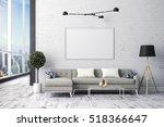 3d render of beautiful interior ... | Shutterstock . vector #518366647