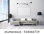 3d render of beautiful interior ... | Shutterstock . vector #518366719