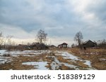 Old Russian Village In Early...