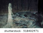 3d illustration of the ghost of ... | Shutterstock . vector #518402971