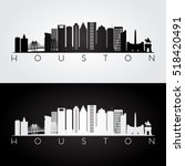 houston usa skyline and