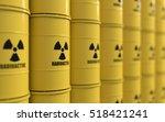 3d Rendering Of Yellows Barrels ...