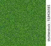 green grass seampess texture  ... | Shutterstock .eps vector #518426581