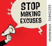 megaphone hand  business... | Shutterstock .eps vector #518431555