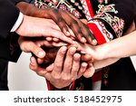 people of different... | Shutterstock . vector #518452975