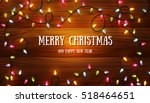 christmas background with...   Shutterstock .eps vector #518464651