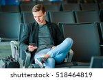 urban business man talking on...   Shutterstock . vector #518464819