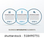 business infographics style... | Shutterstock .eps vector #518490751